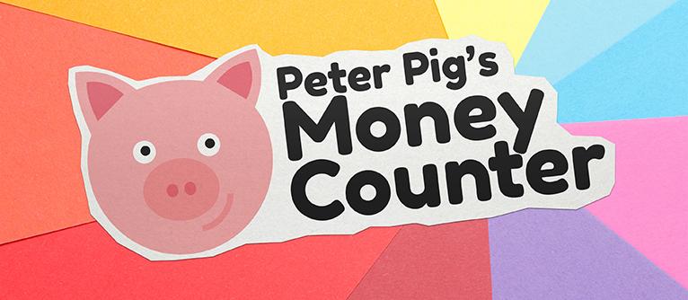 Innovative Classroom Games ~ Peter pig s money counter